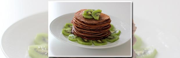protein pandekager med frugt