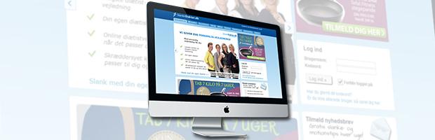 hjemmeside med slanke doktor